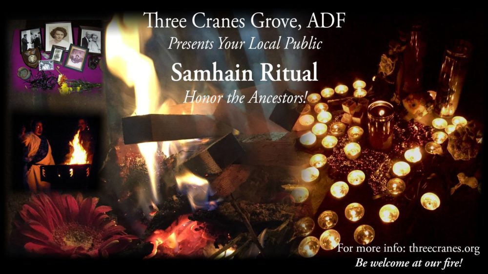 Scenes from Samhain rites past