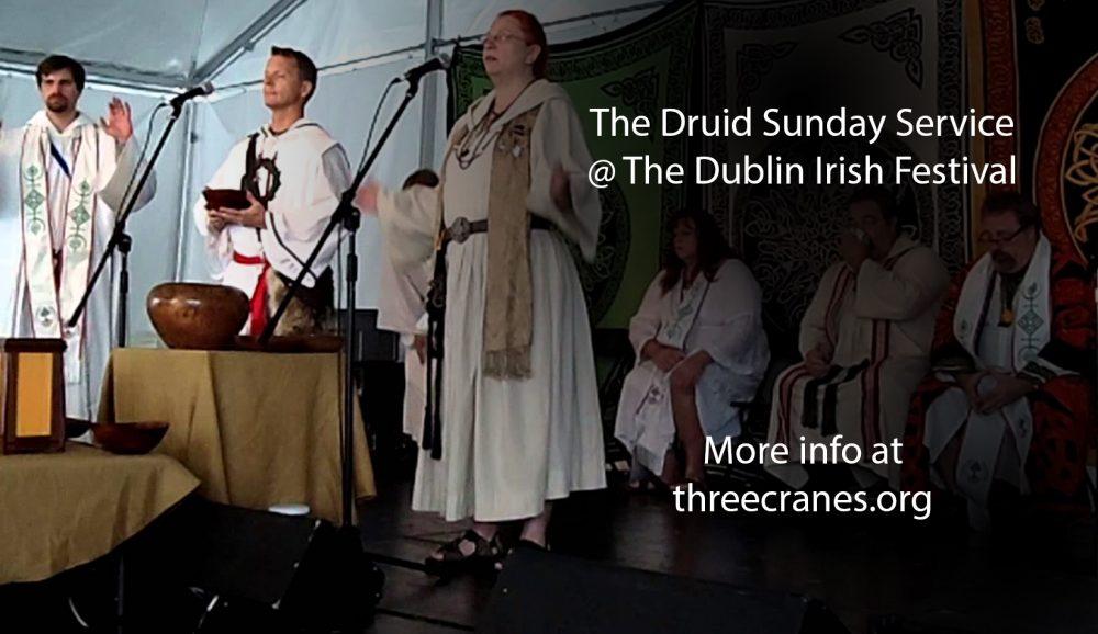 Druid Sunday Service ritual image